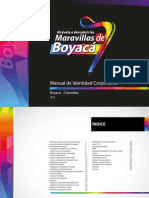 Manual Boyaca 7 Maravillas