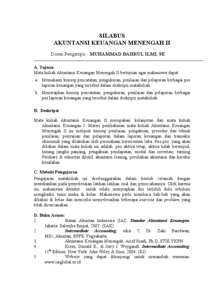 Soal Dan Jawaban Akuntansi Intermediate