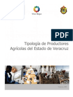 2009 - Tipologia de Productores Agrícolas Veracruz