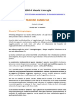 TRAINING AUTOGENO Di Micaela Schincaglia