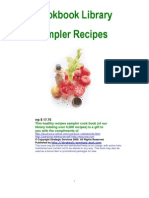 Healthy Cooking Recipies