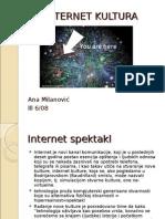 Internet Kultura prezentacija