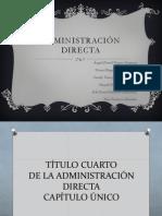 Administración Directa