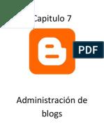 Administracion de Blogs