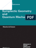 Symplectic Geometry and Quantum Mechanics