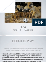 Lecture 16 - Play