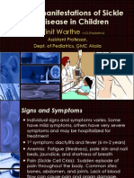 Sickle Cell Disease Manifestation