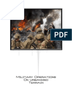 FM 90-10 - Military Operations on Urbanized Terrain (MOUT)