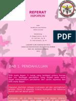 REFERAT HIPOPION yonatha