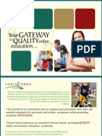 Online Education Brochure