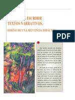 DIDÁCTICA DE LA PRODUCCIÓN DE TEXTOS NARRATIVOS