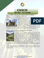 Cotiz 1 Peru - Cusco 4d - 3 n . 2013- Octubre --