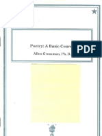 Poetry—A Basic Course
