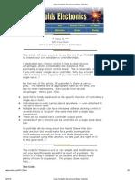 How to Build a Serial Servo Motor Controller