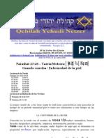 Parashat 27-28 - 5769