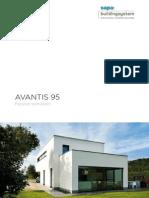 ProductBrochure Avantis 95 aluminium Passive Windows by Sapa Building System