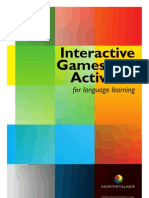 Interactive Games and Activities for Language Learning - Sample