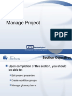 Admin 04 Manage Project