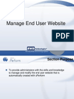 Admin 05 Manage Website