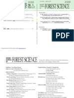 Diameter and Height Distributions of Natural Even-Aged Pine Forests (Pinus sylvestris) in Western Khentey, Mongolia