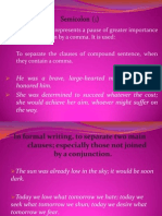 BE Punctuation Others