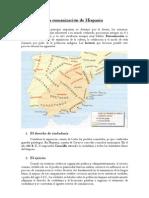 La Romanizacion de Hispania