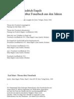 Marx-Engels Textezu Feuerbach