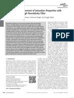permittivity of nanocomposites