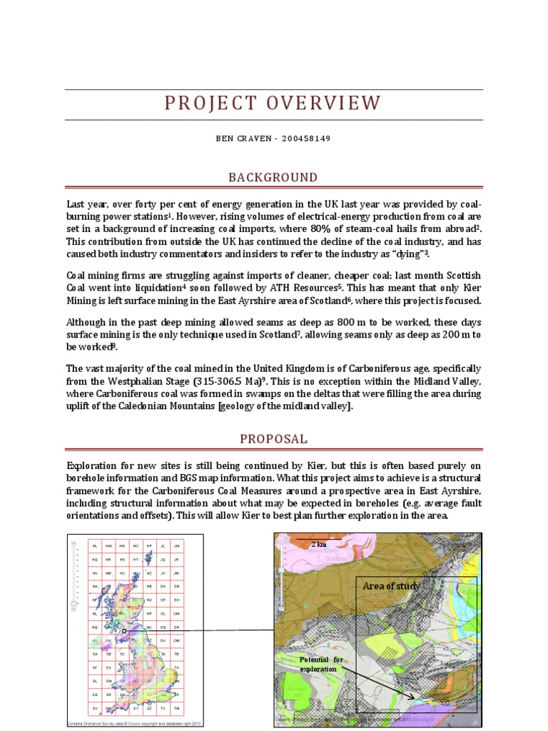 Project Overview | Coal | Mining