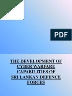 The Development of Cyber Warfare Capabilities Of