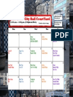 June City Hall Lunch Calendar
