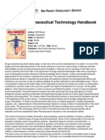 Drugs & Pharmaceutical Technology Handbook