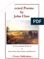 Julia Geddes, Kitty Graham and Helen Ince - Selected Poems by John Clare - An a Level English Workbook