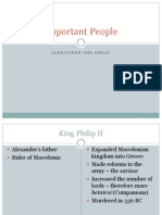 alexander important people