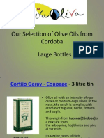 Olive Oil From Cordoba