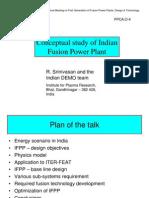 Fusion Nuclear Reactor India Presentation