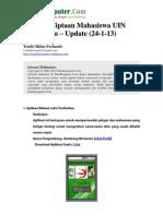 Aplikasi Android Ciptaan Mahasiswa UIN Suska Riau Update 24-1-13