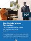 The Mobile Money Revolution - Financial Inclusion Enabler