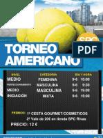 Torneos Americanos 9 Junio