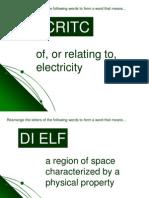 06 - Electric Fields