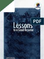 Make Your Resume Better