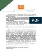 Consideracoes Sobre Informe Psicopedagogico Simone Carlberg
