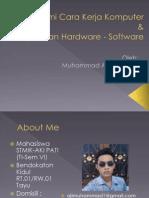 Pengenalan Software Hardware