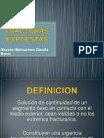 Fracturas Expuestas - Maricarmen Gavidia Bravo