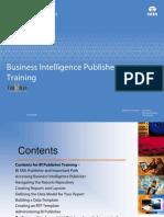 BI Publisher Trainig