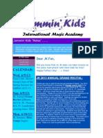 Jammin Kids 2013 Annual Grand Recital