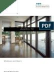 Avantis 70 aluminium windows and doors - Sapa Building System