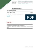 2008_Matemática A 12_Enunciado V1_2ª fase