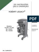 Batedeira Hl400 Manual de Instrucoes