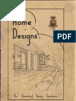 House Designs, QHC, 1950